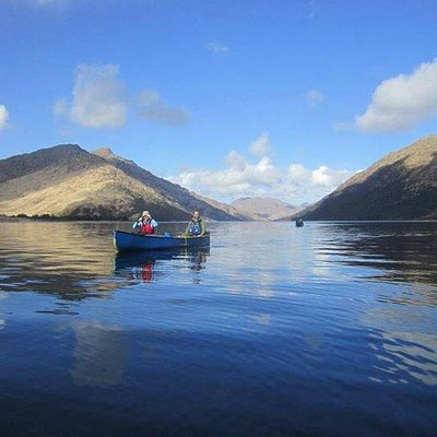 The beautiful Loch Shiel expedition