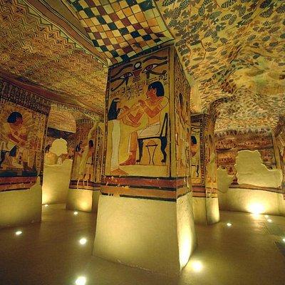 Galerie égyptienne, Musée de Tessé, Le Mans