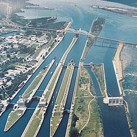 "The amazing ""Soo Locks"" in Sault Ste. Marie"