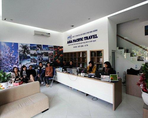 Asia Pacific Travel office in Hanoi