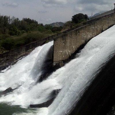 Water open in Aaliyar Dam