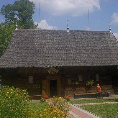 St Nicholas wooden church