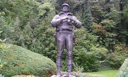 Monumento al General Patton, Ettelbruck, Luxemburgo.