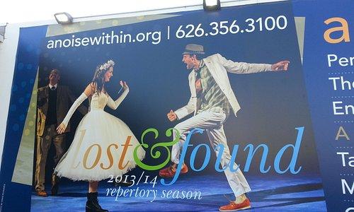 Billboard outside theater