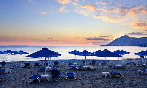 Amazing Sunset at Plakias beach