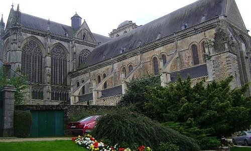 Catedral de Saint-Julien de Le Mans, Le Mans, Francia.