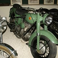 1947 Sunbeam motorcycle at the Classic Motorcycle Museum.
