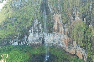 nearby waterfall