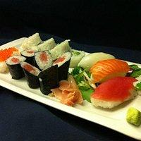 Variat de Sushi-Sashimi ( dijous a la nit cuina japosesa )