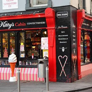 Kittys cabin Kilkenny.  Traditional Irish sweet shop