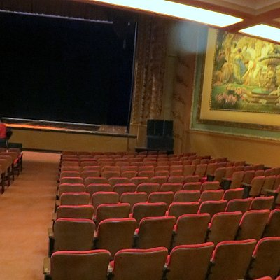 the stage Palace Theatre