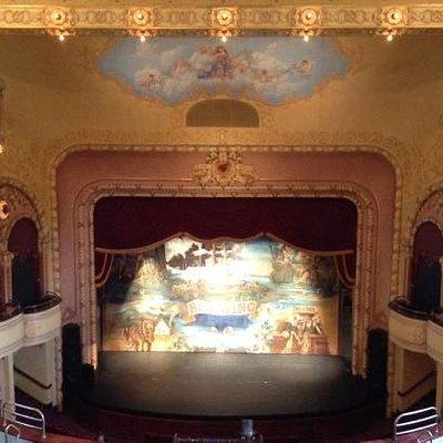 Sheldon Theatre Stage
