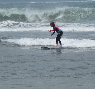 First time surfing