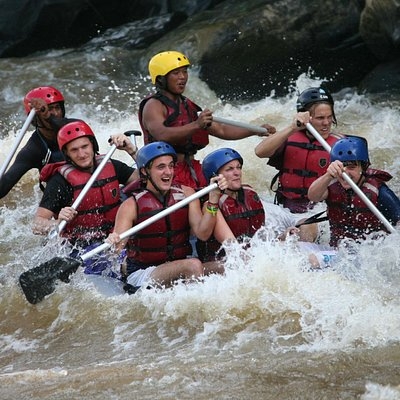 Woohoo! White Water Rafting Grade III & IV!