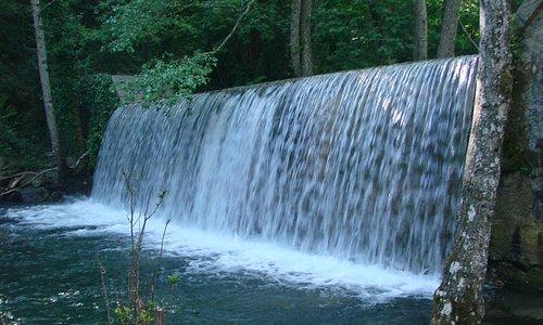 cascata nel Pollino