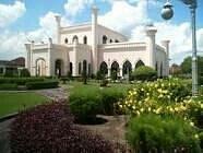 istana siak sangat indah dan menawan
