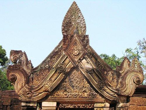 Pediment Gopura II
