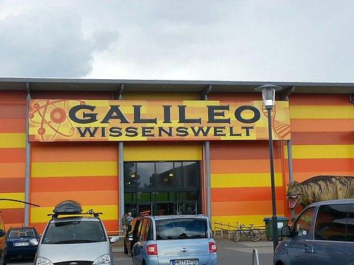 Eingang zur Galileo Wissenswelt