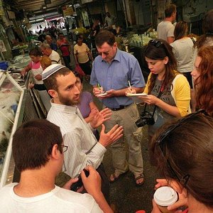 Tour of Mahane Yehuda Market: Food and Globalization