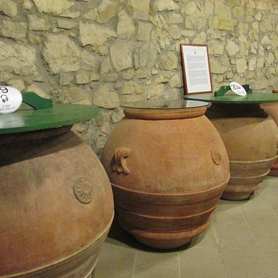 Old vessels for winemaking