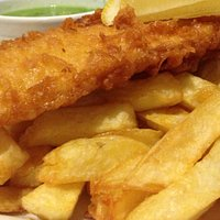 Delicious Cod and proper chips!
