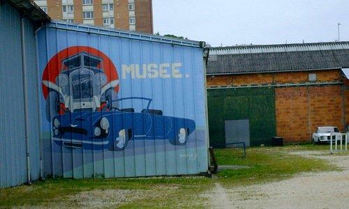 Le musée vu de l'extérieur.