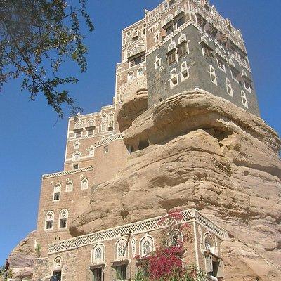 Rock Palace, Sanaa, Yemen
