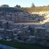 Α αρχαίο θέατρο Λάρισας