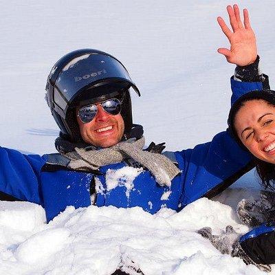 Snow makes people happy!