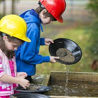 Try your hand at Gold Panning