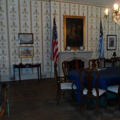 room dedicated to the 1783 Society of the Cincinnati