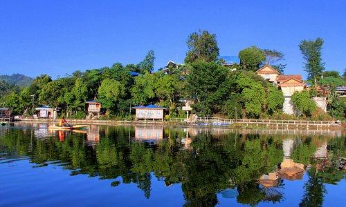 Reflection on Lake Sebu
