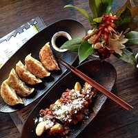 Gyoza and wagyu beef gnocchi Phoo taken by sweet_theng on Instagram