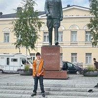 Walking on Mikkelli