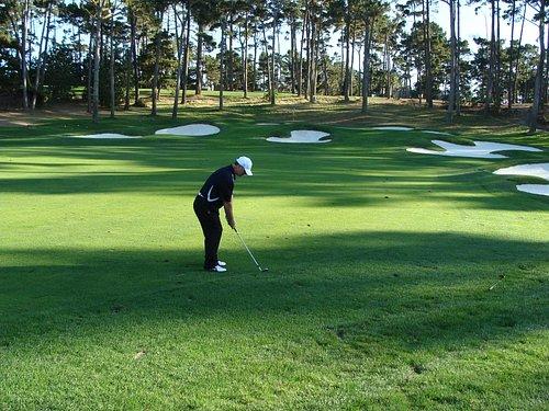 Great golf hole
