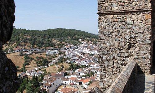 Vista del pueblo desde el Castillo