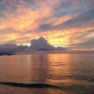 Amazing sunset on the North Shore