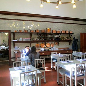 Tea room at Pollock Country Park.