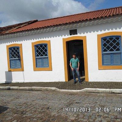 David na casa do Marechal Deodoro.