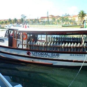 barco da Litoral Sub