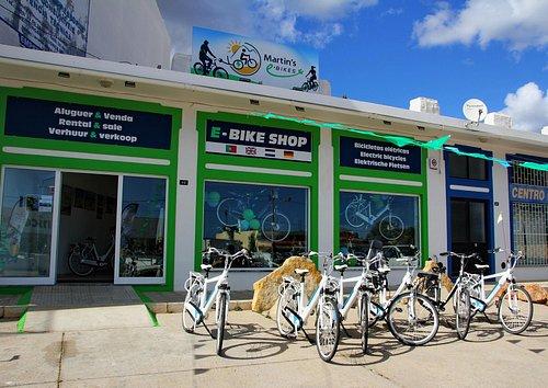 Martin's E-Bike pick up location and showroom