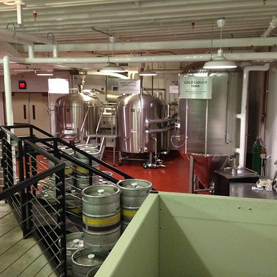 Genesee's Experimental Brewery--20 bbl Capacity