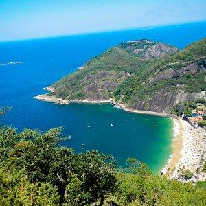 View from Morro da Urca trail