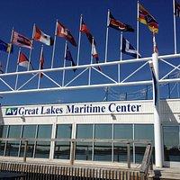The Maritime Center facing Canada.