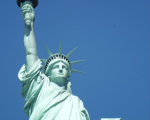 Statue of Liberty, Holding book in left hand