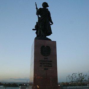 Памятник основателям Иркутска