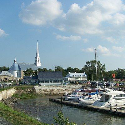 Circuit patrimonial, marina,parc riverain, la promenade, St-Michel-de-Bellechasse