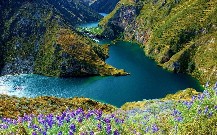 Laguna de Huallhua en Nor Yauyos Cochas