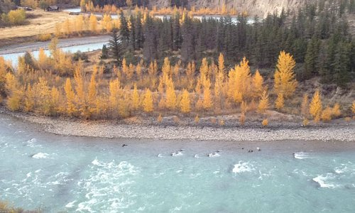 The Chilcotin river