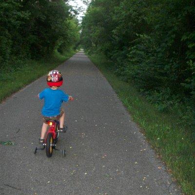 B&O Bike Trail near Lexington, Oh